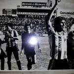 Estadio Insular en Las Palmas el día en que nos proclamamos campeones de liga 1982-1983